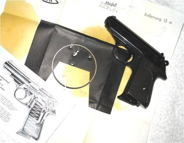 Pistole Walther PPK